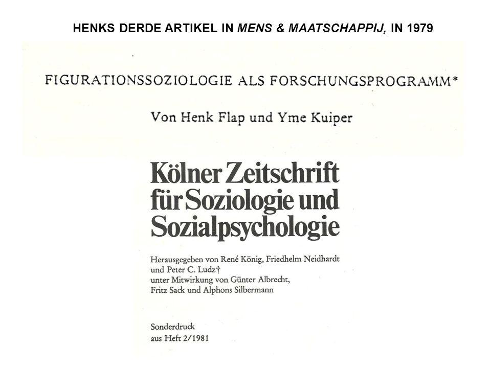 HENKS DERDE ARTIKEL IN MENS & MAATSCHAPPIJ, IN 1979