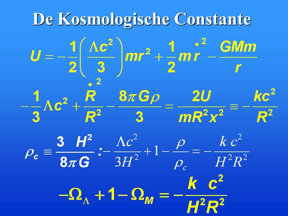 De Kosmologische Constante