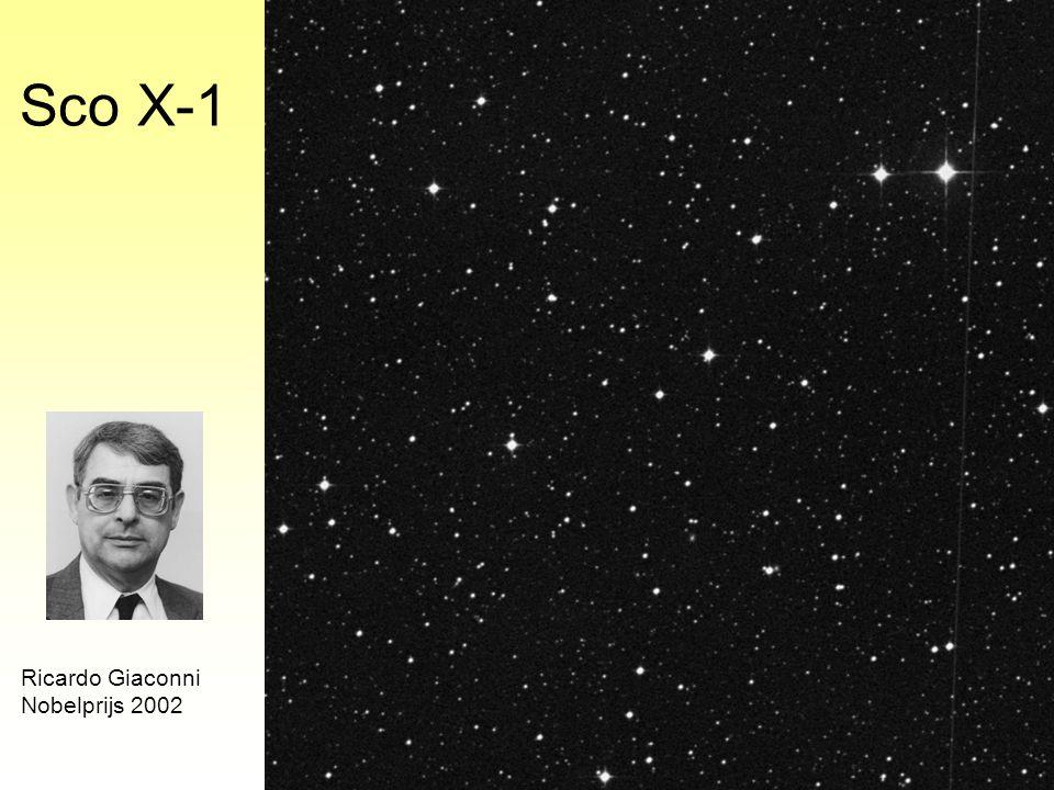 Sco X-1 Ricardo Giaconni Nobelprijs 2002