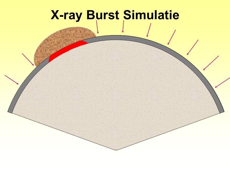 X-ray Burst Simulatie