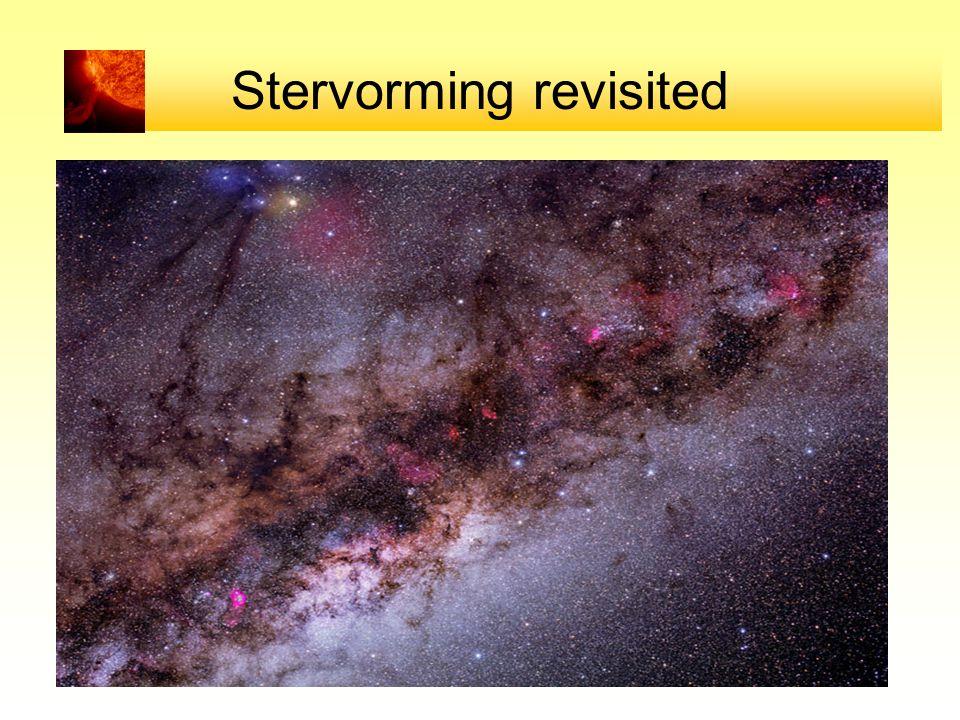 Stervorming revisited