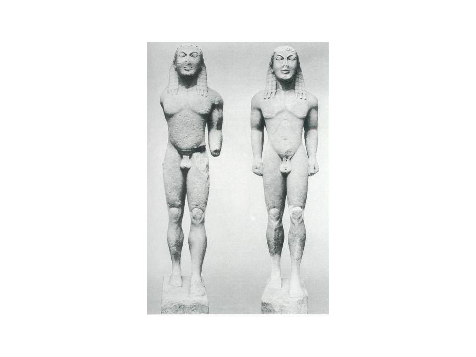 Maker onbekend, begin 5e eeuw voor Christus Levensgrote bronzen beelden van een krijger en een atleet (opgedregd in zee bij de kust van Zuid-Italië)