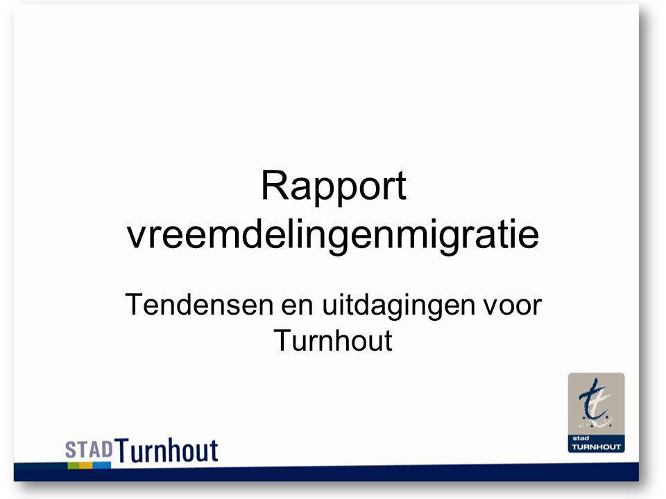 Rapport vreemdelingenmigratie Tendensen en uitdagingen voor Turnhout