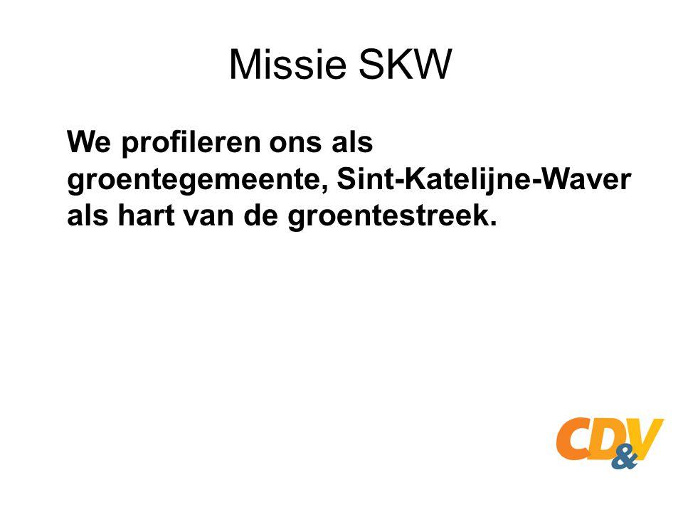Missie SKW Wie in Sint-Katelijne-Waver woont, kan deelnemen aan een hecht gemeenschapsleven in één van de 4 woonkernen.