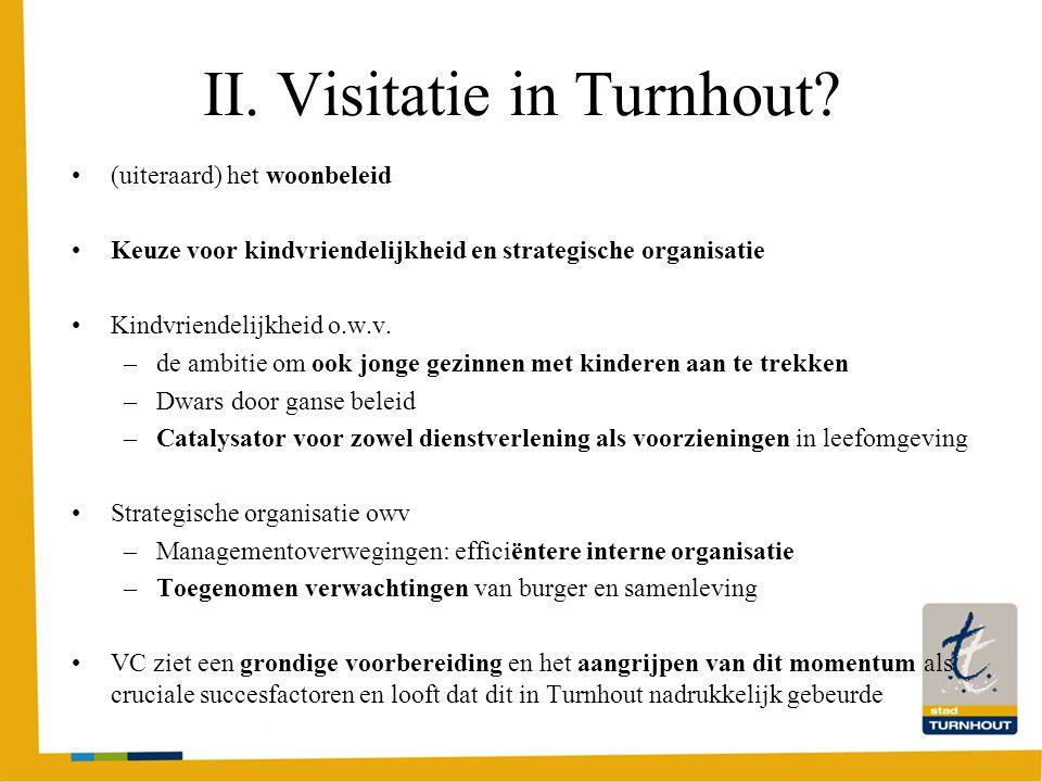 II. Visitatie in Turnhout.