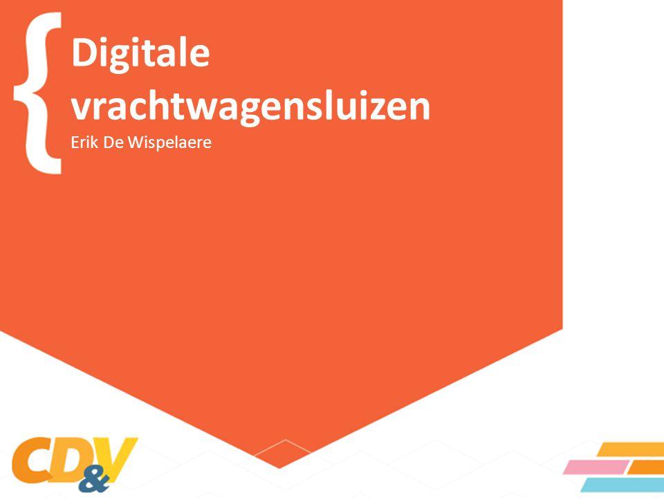 Digitale vrachtwagensluizen Erik De Wispelaere