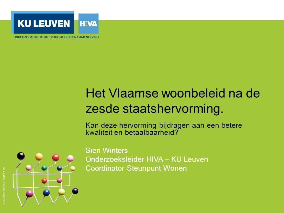Design Charles & Ray Eames - Hang it all © Vitra Het Vlaamse woonbeleid na de zesde staatshervorming.