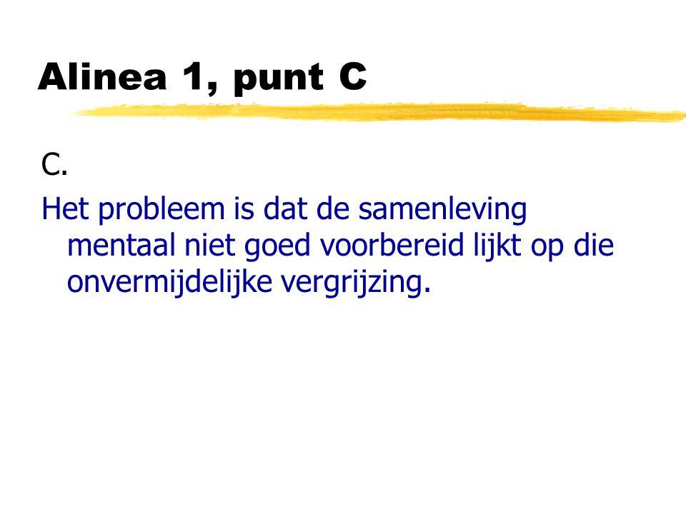 Alinea 1, punt C C.