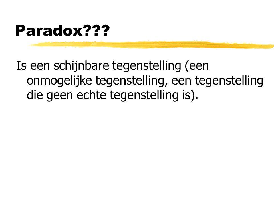 Paradox??.