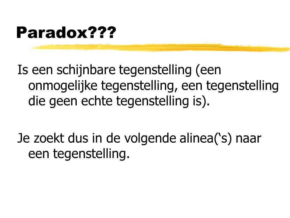Paradox .