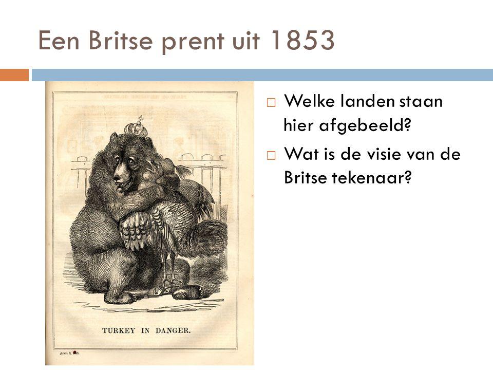 De toekomst van Duitsland Deze Duitstalige prent is afkomstig uit 1866. => Wat is de visie van de tekenaar?
