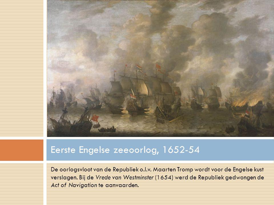 De oorlogsvloot van de Republiek o.l.v. Maarten Tromp wordt voor de Engelse kust verslagen.