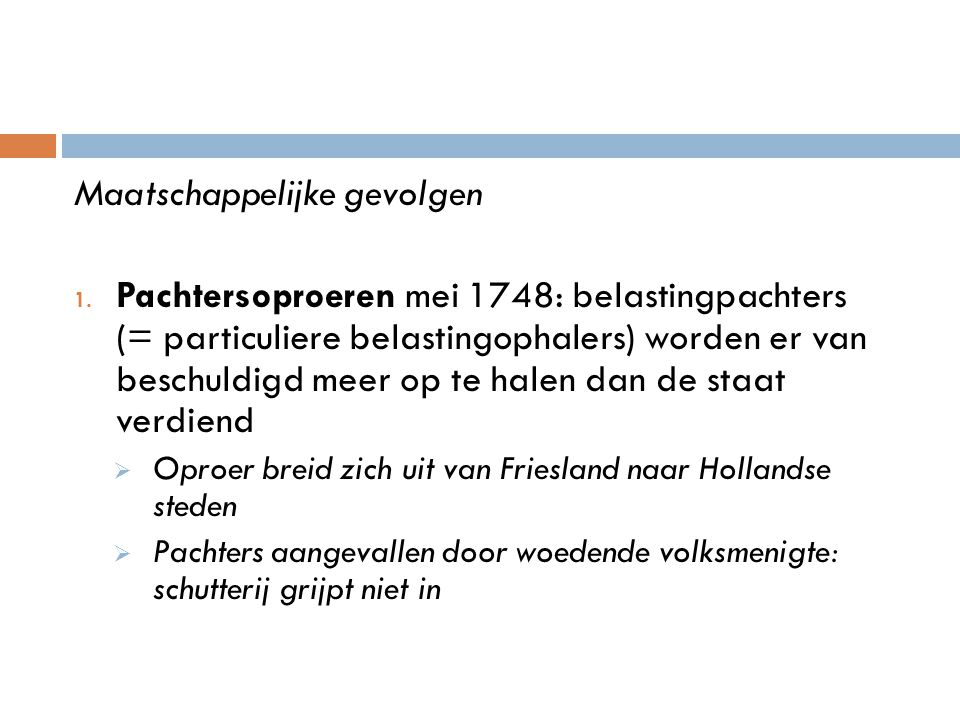 Het plunderen van het huis van een belastingpachter te Amsterdam.