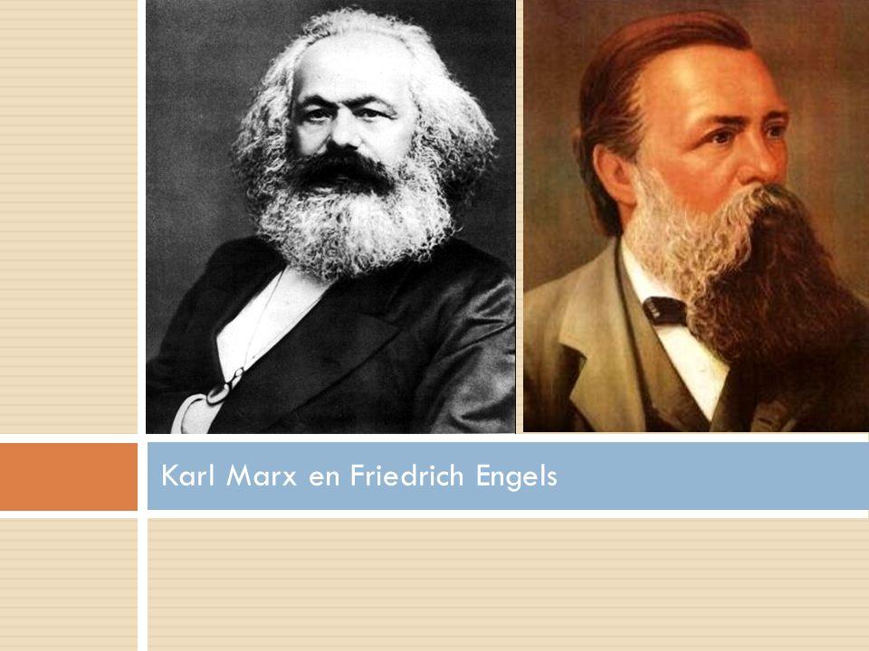 Socialisme (marxisme) in theorie 1.Tegenstelling A.