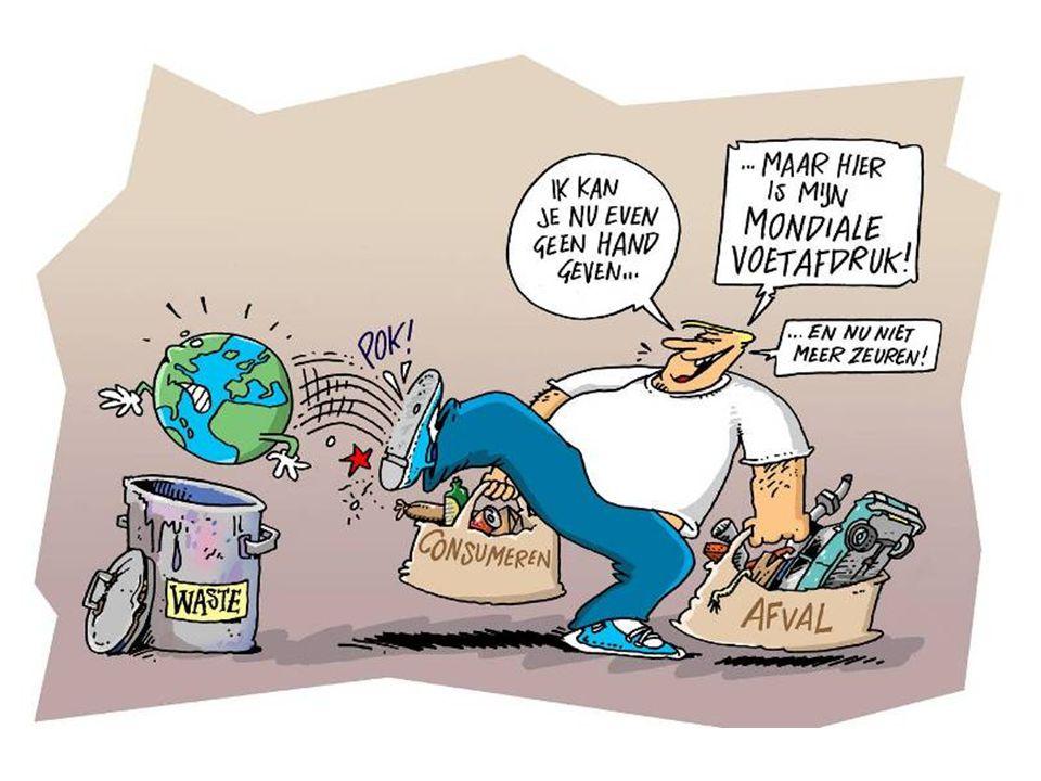 Mondiale Voetafdruk Hoe duurzaam je leeft kun je zien aan je mondiale voetafdruk