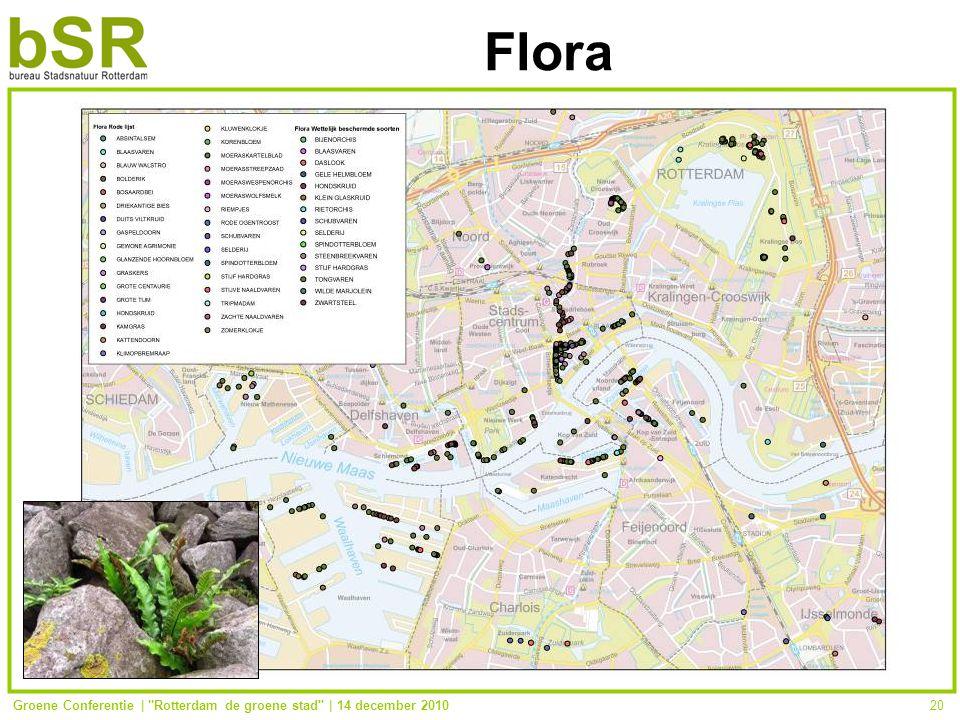 Groene Conferentie | Rotterdam de groene stad | 14 december 201020 Flora