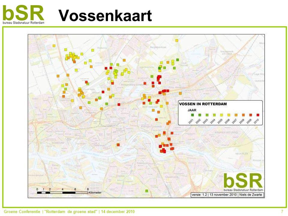 Groene Conferentie | Rotterdam de groene stad | 14 december 20107 Vossenkaart