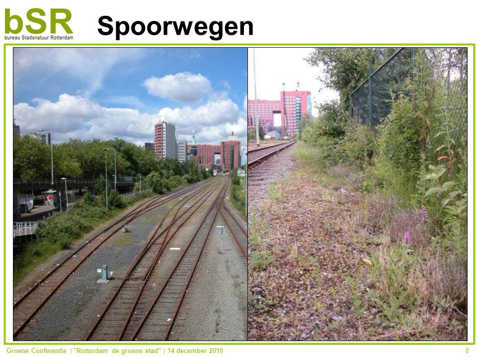 Groene Conferentie | Rotterdam de groene stad | 14 december 20108 Spoorwegen