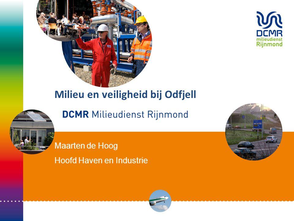 Bevoegdheidsverdeling Leefbaarheid en veiligheid omgeving: Wabo (wet milieubeheer): Provincie of gemeente via de DCMR Werknemers veiligheid: Inspectie SZW Brandpreventie en bestrijding: Veiligheidsregio Rotterdam-Rijnmond Veiligheid werknemers en omgeving: Besluit Risico Zware Ongevallen 1999 DCMR/Inspectie SZW/VRR Veiligheid omgeving: PGS-richtlijnen in vergunning DCMR Openbare orde en veiligheid: burgemeester 2