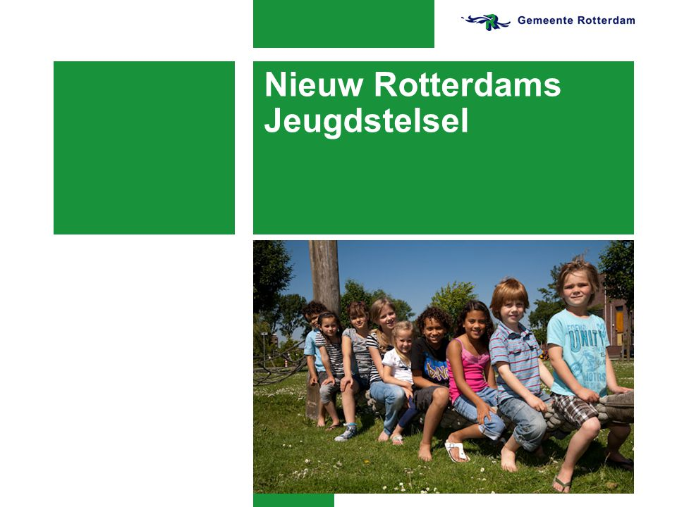 Drang en dwang Nieuw Rotterdams Jeugdstelsel 12