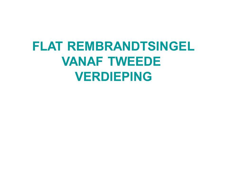 FLAT REMBRANDTSINGEL VANAF TWEEDE VERDIEPING