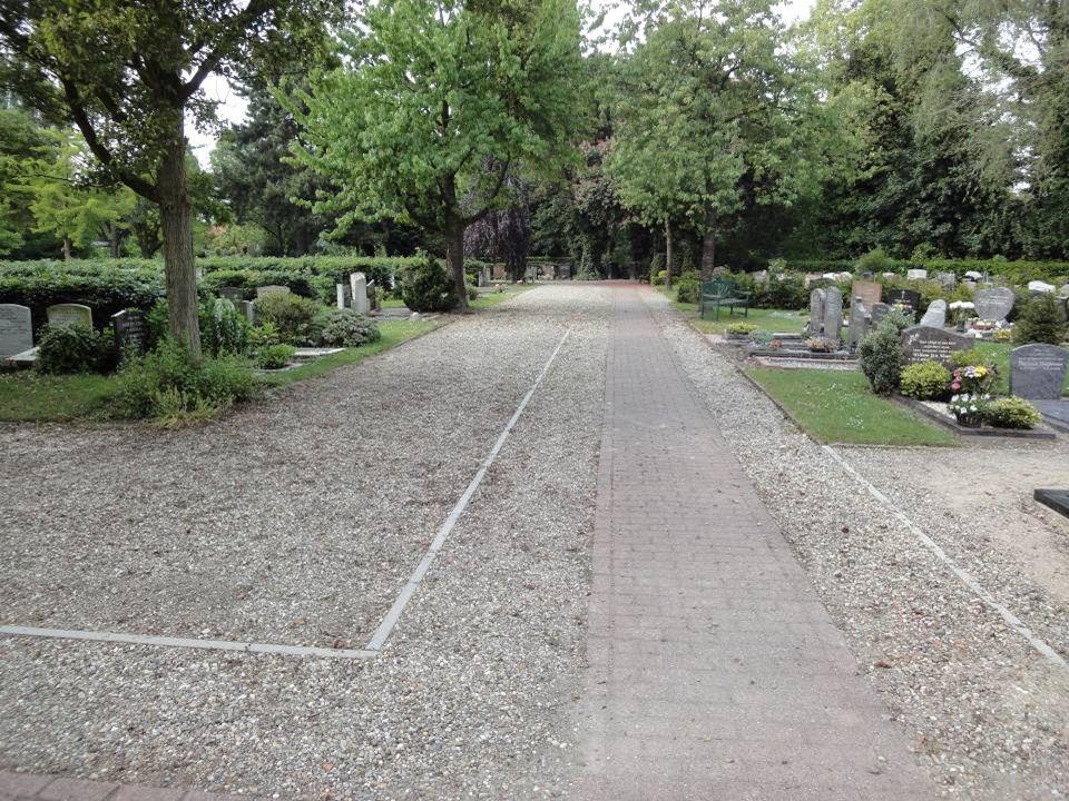 TWEEDE UITBREIDING gerealiseerde uitbreiding met keldergraven