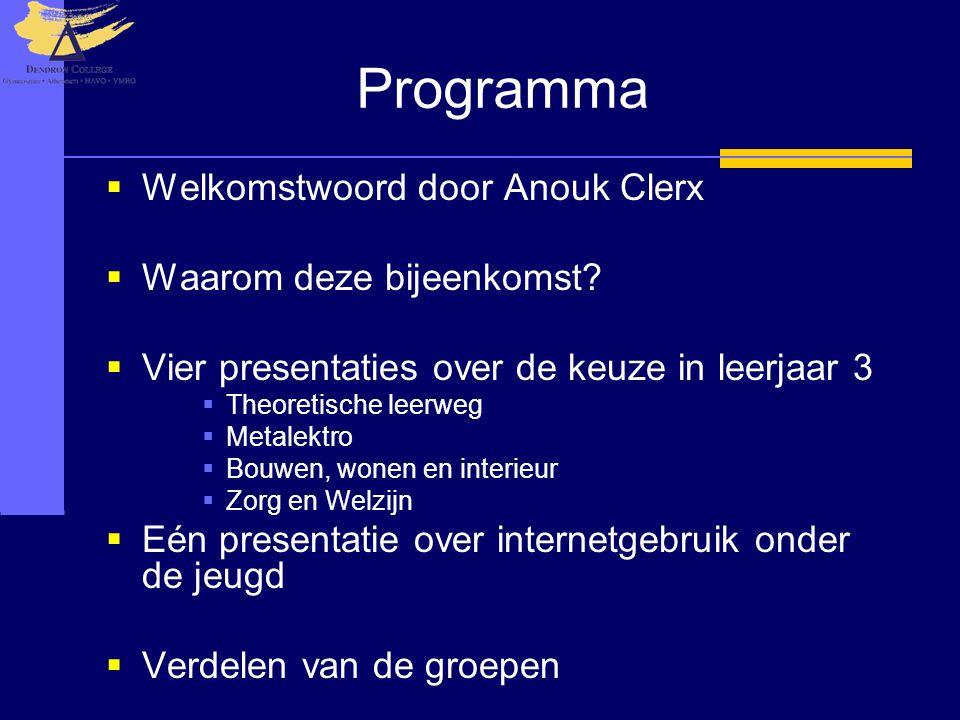 Keuzeproces Kader Keuze Sector Techniek Zorg & Welzijn Economie Landbouw Keuze afdeling Verzorging Metalektro Bouwen, Wonen en Interieur