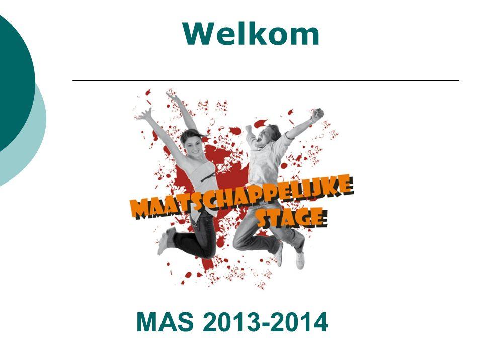 Welkom MAS 2013-2014