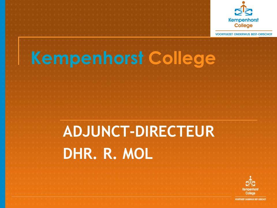 Kempenhorst College ADJUNCT-DIRECTEUR DHR. R. MOL