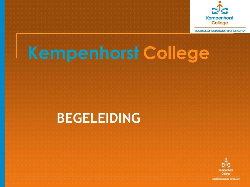 Kempenhorst College BEGELEIDING