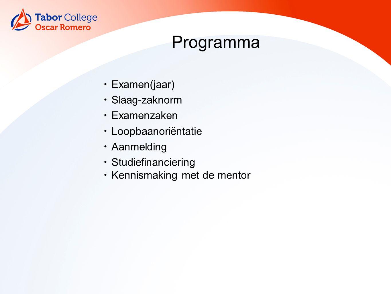 Studiekeuze in klas 6 Ordenen van gegevens Volgorde voorkeur opleiding Eventueel alternatief (nodig bij loting en selectie) Knoop doorhakken