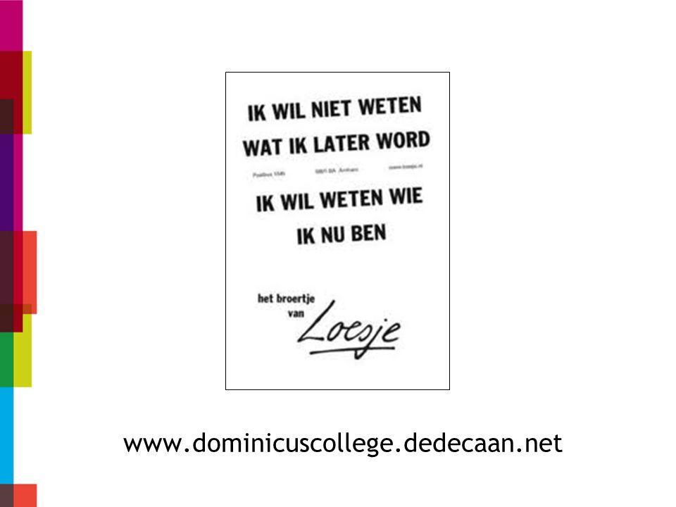 Inleiding Dedecaan.net Voordelen dedecaan.net Leerling en dedecaan.net Rol van de ouder Ouder en dedecaan.net