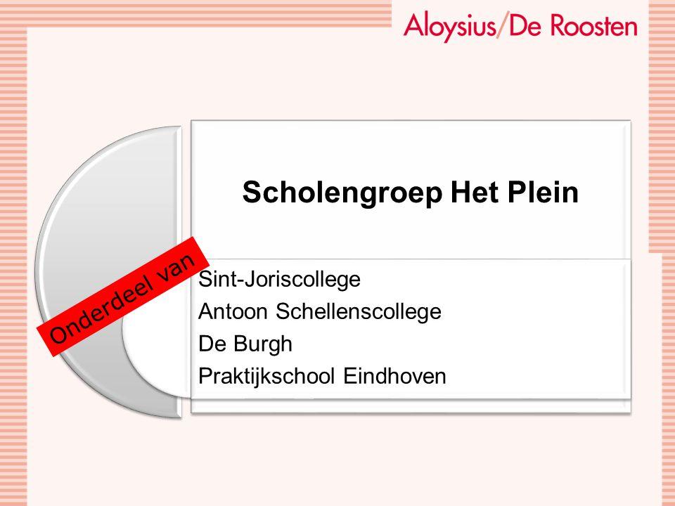 Scholengroep Het Plein Sint-Joriscollege Antoon Schellenscollege De Burgh Praktijkschool Eindhoven Onderdeel van
