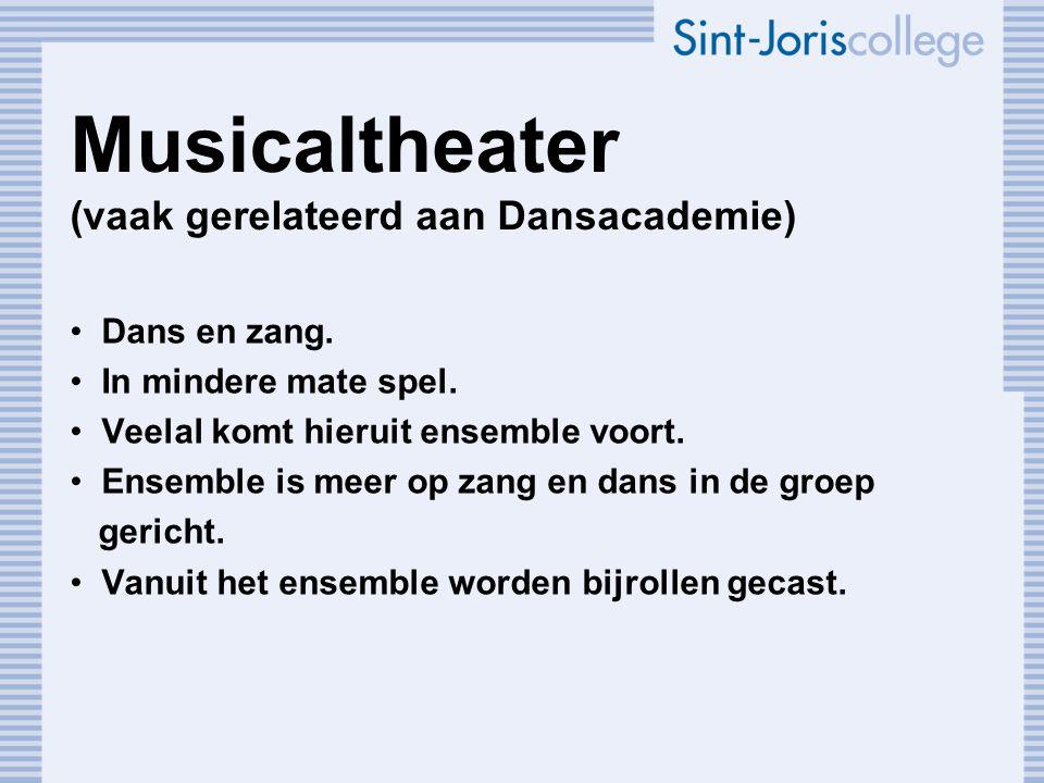 HBO Vanuit conservatorium. Codarts Rotterdam (muziektheater).