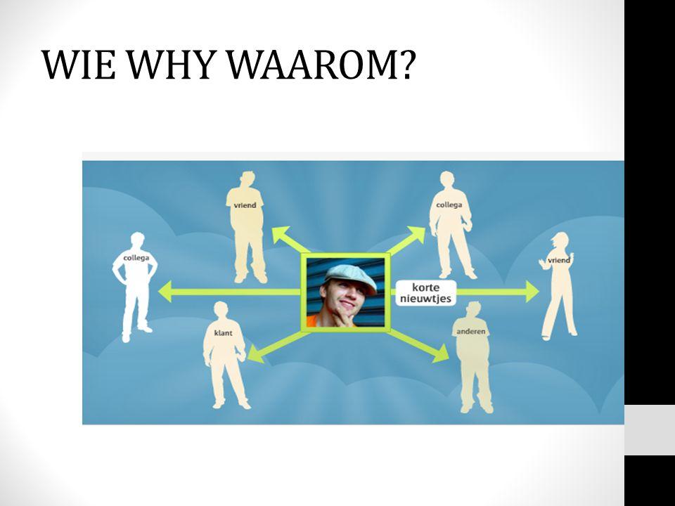WIE WHY WAAROM
