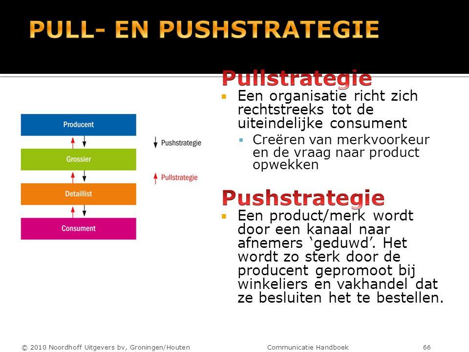 © 2010 Noordhoff Uitgevers bv, Groningen/Houten Communicatie Handboek 66