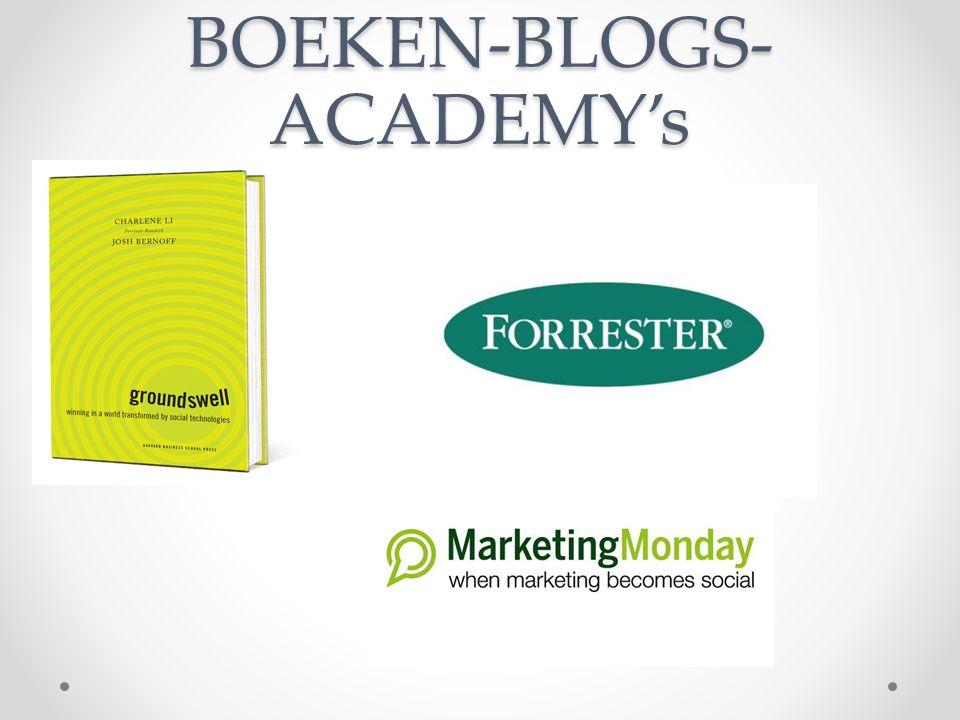 BOEKEN-BLOGS- ACADEMY's