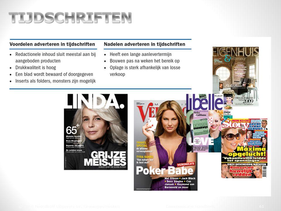 © 2010 Noordhoff Uitgevers bv, Groningen/Houten Communicatie Handboek 61