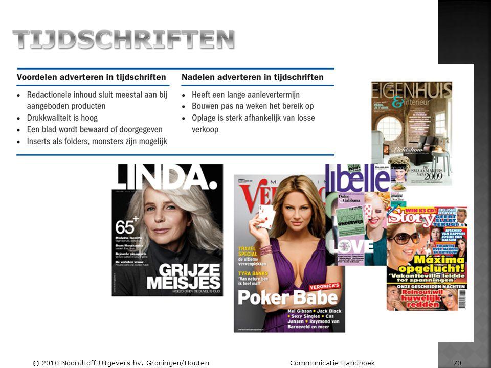 © 2010 Noordhoff Uitgevers bv, Groningen/Houten Communicatie Handboek 70