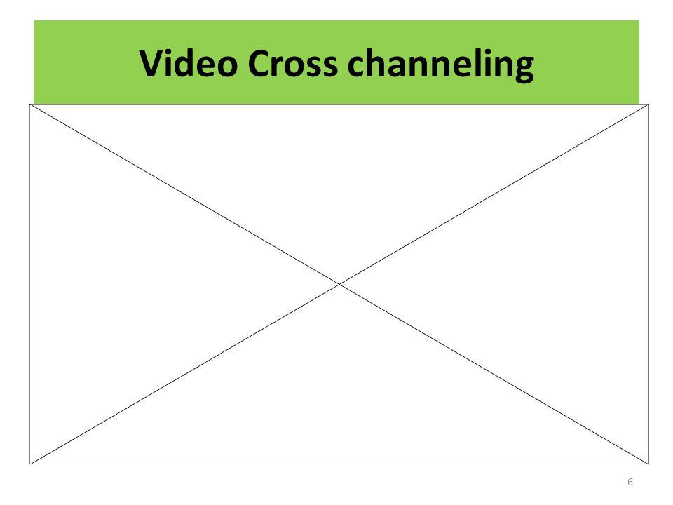 Video Cross channeling 6