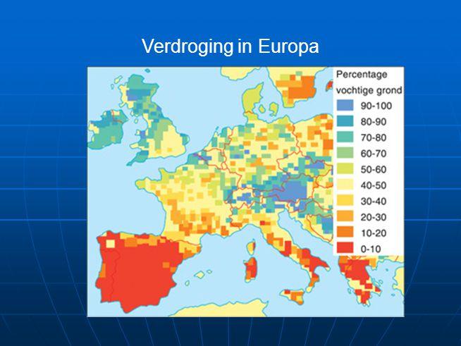 Verdroging in Europa