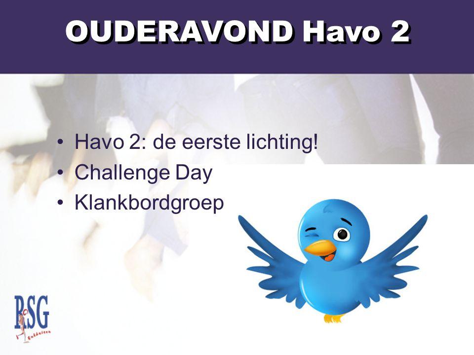 Havo 2: de eerste lichting! Challenge Day Klankbordgroep