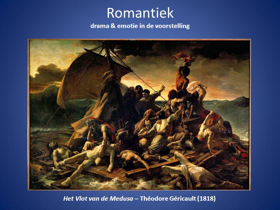 Romantiek drama & emotie in de voorstelling Het Vlot van de Medusa – Théodore Géricault (1818)