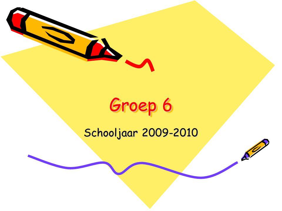 Groep 6 Schooljaar 2009-2010