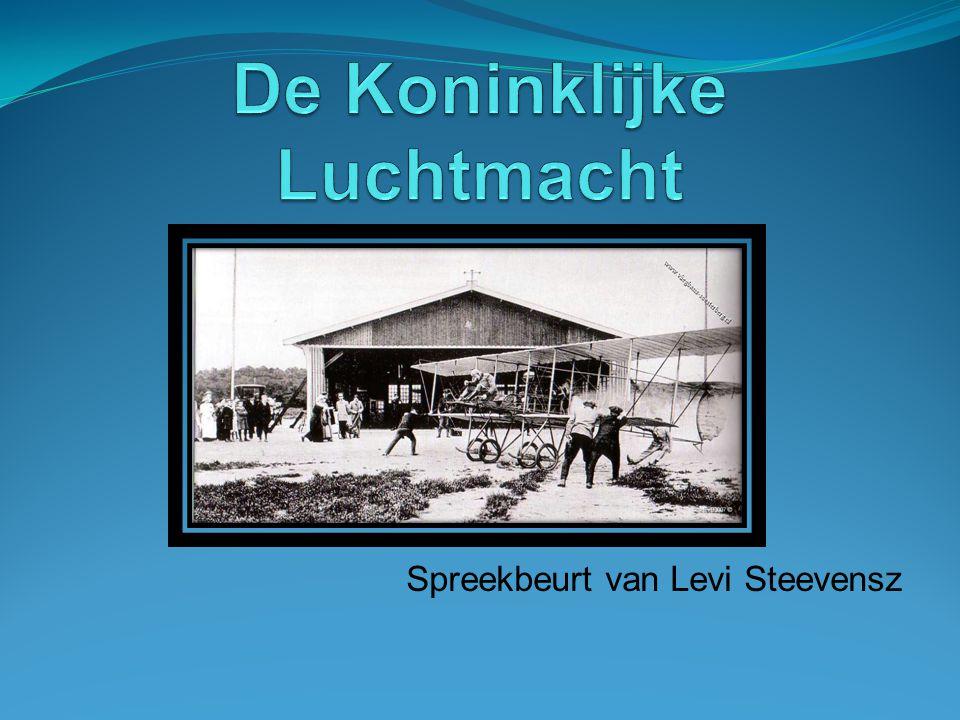Spreekbeurt van Levi Steevensz