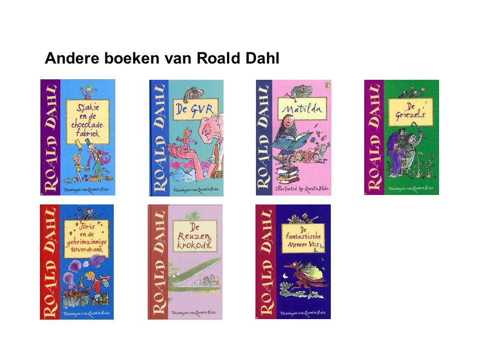 Andere boeken van Roald Dahl