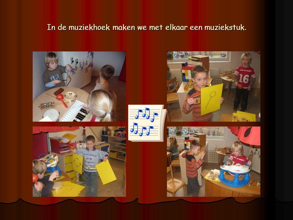 We kunnen zelfs een muziekstuk maken met de flessen.