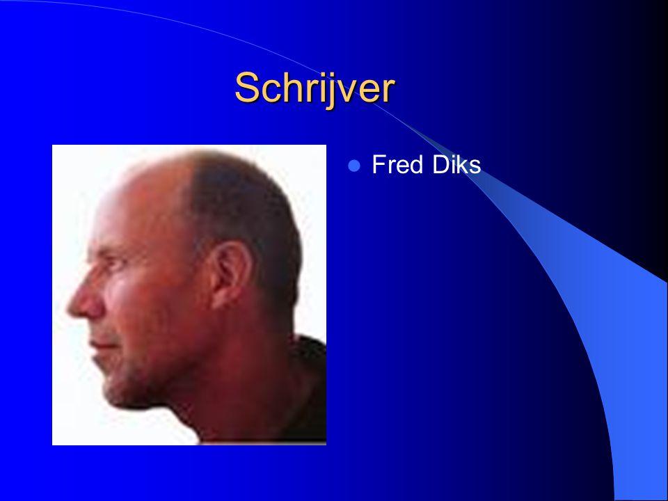Schrijver Fred Diks
