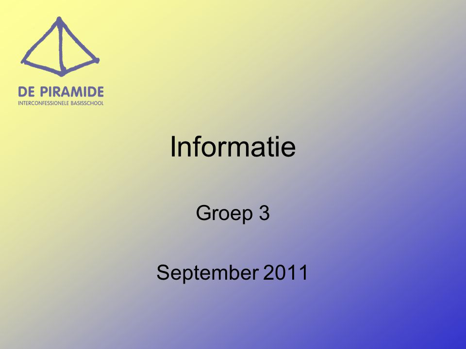 Start van de dag Inloop: vanaf 8.15 – 8.30 uur Kring: - Viering - Trefwoord - Kringgesprekken