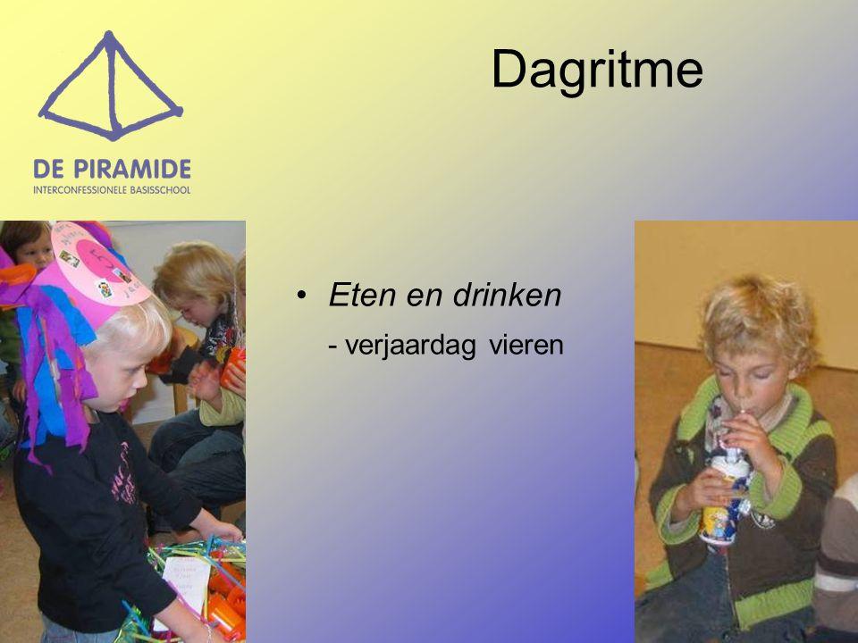 Eten en drinken - verjaardag vieren Dagritme